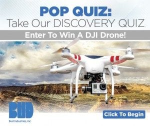 Bud Industries Drone Contest Winner Announced