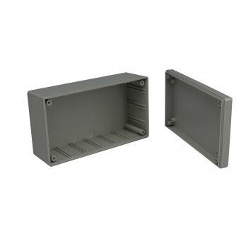 Utilibox Style F Plastic Utility Box Open