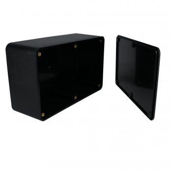 Utilibox Style A Plastic Utility Box Open