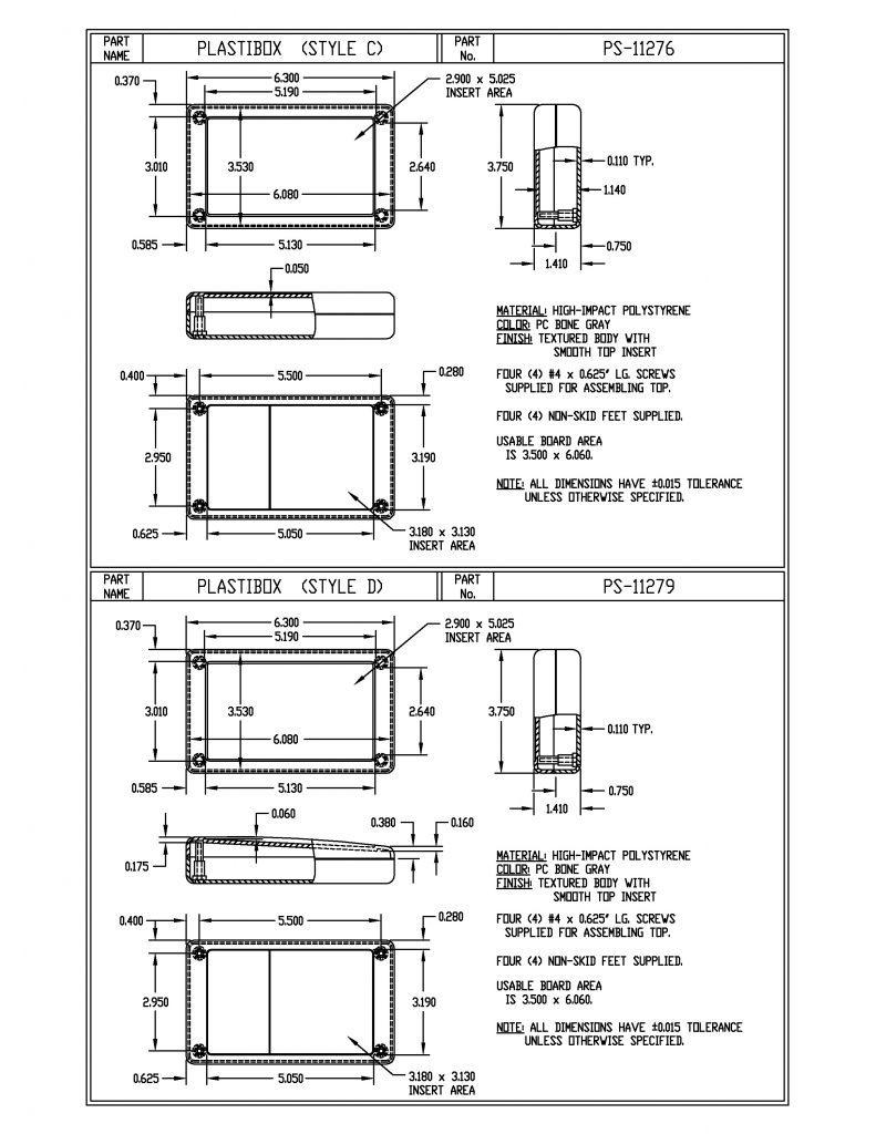 PS-11279 Dimensions