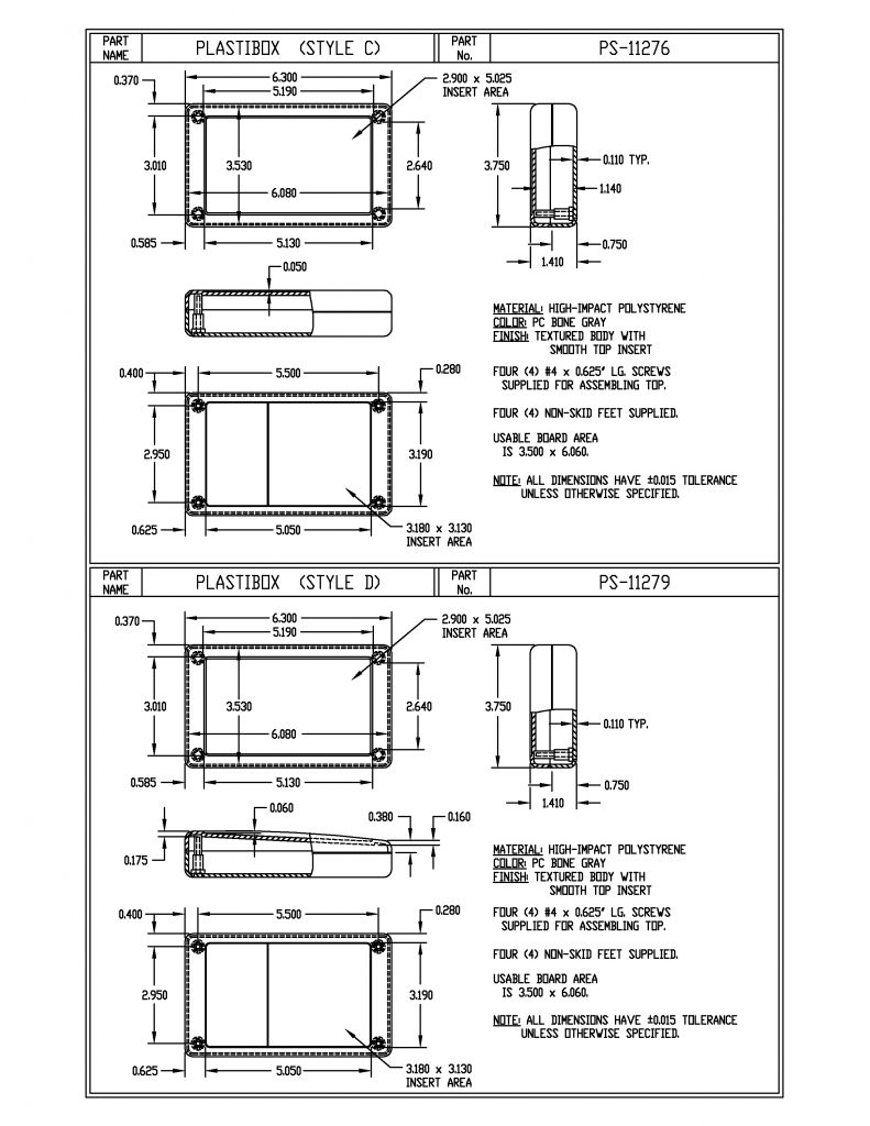 PS-11276 Dimensions