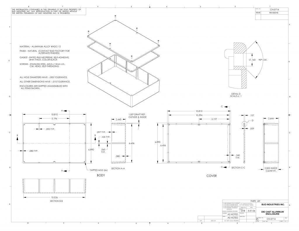 CN-5714 Dimensions