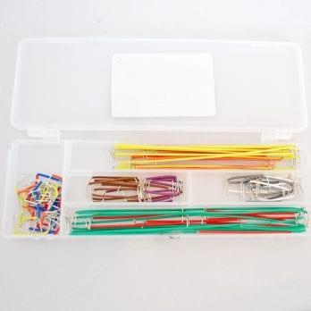 Pack of 140 Rigid Jumper-Wire Bundle BC-32626