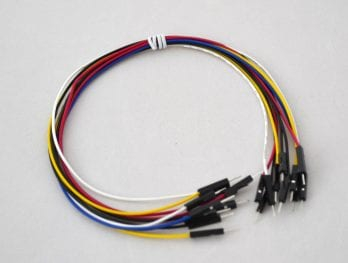 Pack of 10 Jumper Wires Double Male 30 cm BC-32670