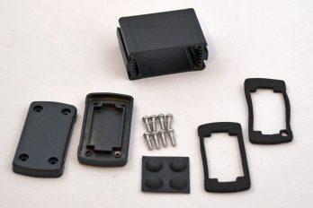 Extruded Aluminum Enclosure Black EXN-23350-BK