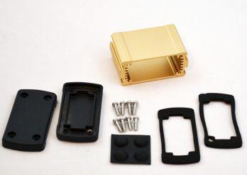 Extruded Aluminum Enclosure Gold EXN-23350-GD