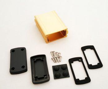 Extruded Aluminum Enclosure Gold EXN-23351-GD