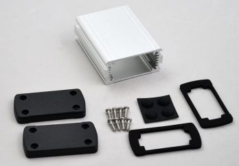 Extruded Aluminum Enclosure Silver EXN-23351-SV