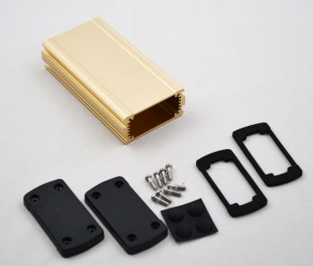 Extruded Aluminum Enclosure Gold EXN-23352-GD