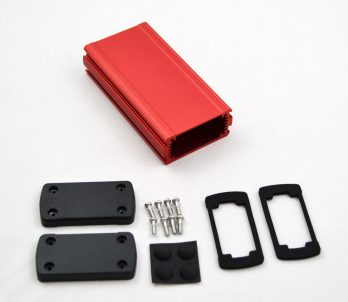 Extruded Aluminum Enclosure Red EXN-23352-RD