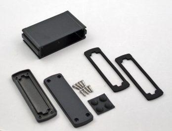 Extruded Aluminum Enclosure Black EXN-23353-BK