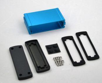 Extruded Aluminum Enclosure Blue EXN-23353-BL