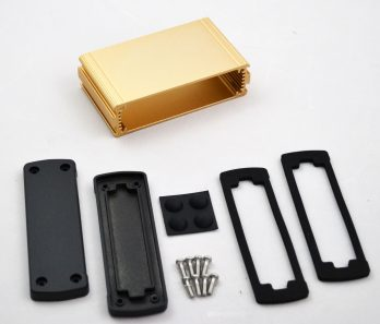 Extruded Aluminum Enclosure Gold EXN-23353-GD