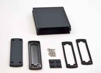 Extruded Aluminum Enclosure Black EXN-23354-BK