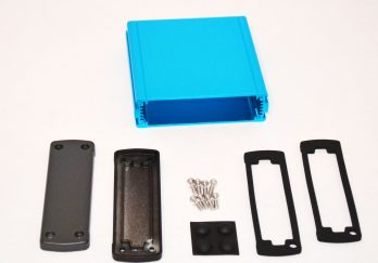 Extruded Aluminum Enclosure Blue EXN-23354-BL