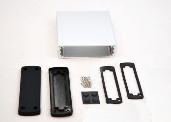 Extruded Aluminum Enclosure Silver EXN-23354-SV