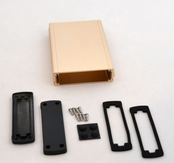 Extruded Aluminum Enclosure Gold EXN-23355-GD