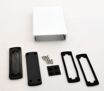 Extruded Aluminum Enclosure Silver EXN-23355-SV
