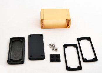 Extruded Aluminum Enclosure Gold EXN-23356-GD