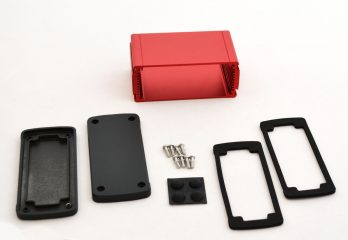 Extruded Aluminum Enclosure Red EXN-23356-RD