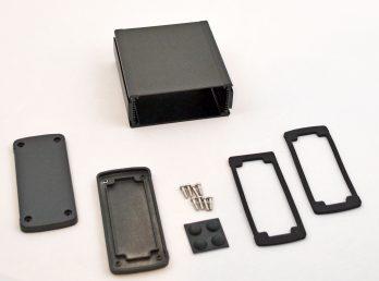Extruded Aluminum Enclosure Black EXN-23357-BK