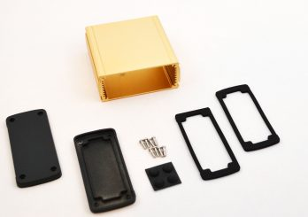 Extruded Aluminum Enclosure Gold EXN-23357-GD