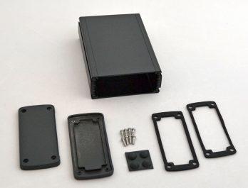Extruded Aluminum Enclosure Black EXN-23358-BK
