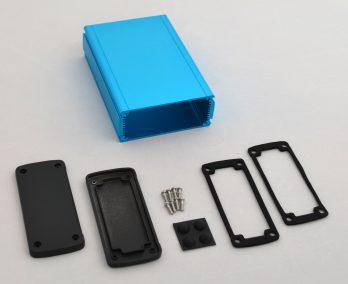 Extruded Aluminum Enclosure Blue EXN-23358-BL
