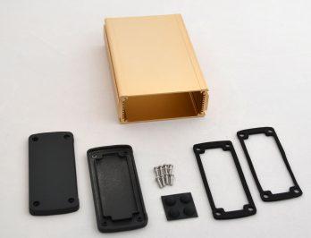 Extruded Aluminum Enclosure Gold EXN-23358-GD