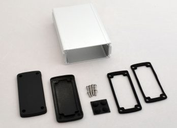 Extruded Aluminum Enclosure Silver EXN-23358-SV