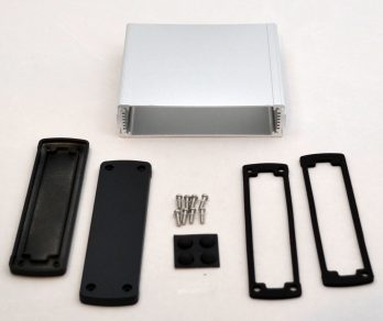 Extruded Aluminum Enclosure Silver EXN-23360-SV