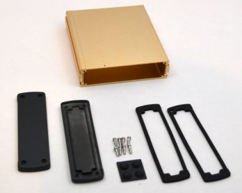 Extruded Aluminum Enclosure Gold EXN-23361-GD