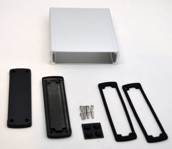 Extruded Aluminum Enclosure Silver EXN-23361-SV