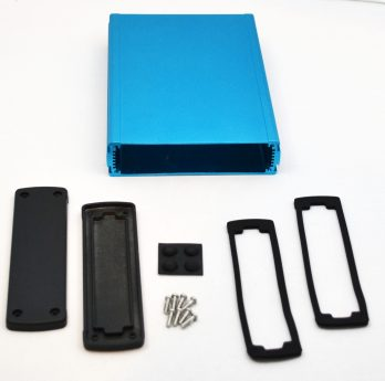 Extruded Aluminum Enclosure Blue EXN-23362-BL