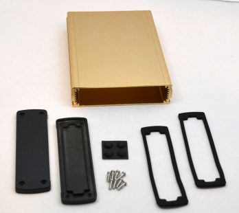 Extruded Aluminum Enclosure Gold EXN-23362-GD