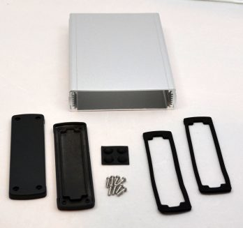 Extruded Aluminum Enclosure Silver EXN-23362-SV