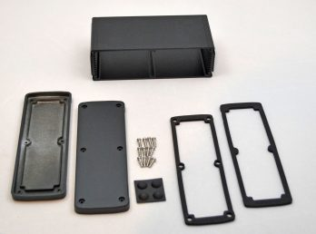 Extruded Aluminum Enclosure Black EXN-23363-BK