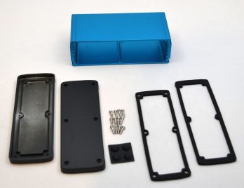 Extruded Aluminum Enclosure Blue EXN-23363-BL