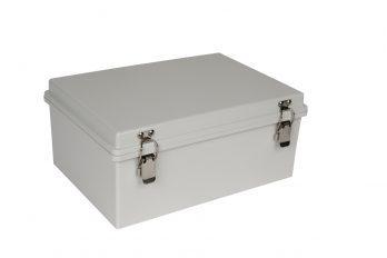 Fiberglass Box with Self-Locking Latch PTH-22428 closed