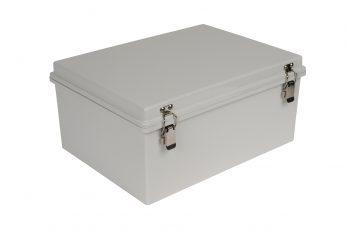 Fiberglass Box with Self-Locking Latch PTH-22432 closed