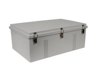 Fiberglass Box with Self-Locking Latch PTH-22440 closed