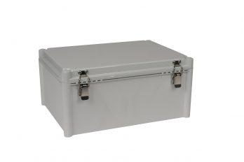 Fiberglass Box with Self-Locking Latch PTH-22456 closed
