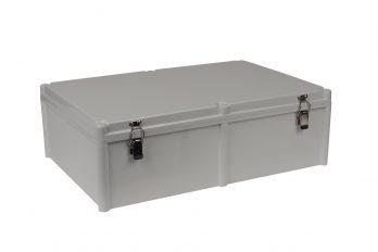 Fiberglass Box with Self-Locking Latch PTH-22462 closed
