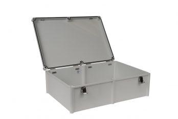 Fiberglass Box with Self-Locking Latch PTH-22462 open