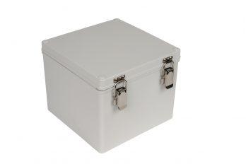 Fiberglass Box with Self-Locking Latch PTH-22510 closed