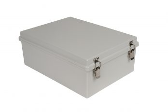 Fiberglass Box with Self-Locking Latch PTH-22730-L closed