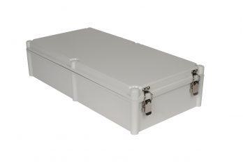 Fiberglass Box with Self-Locking Latch PTH-22758-L closed