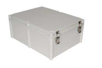 Fiberglass Box with Self-Locking Latch PTH-22760-L closed