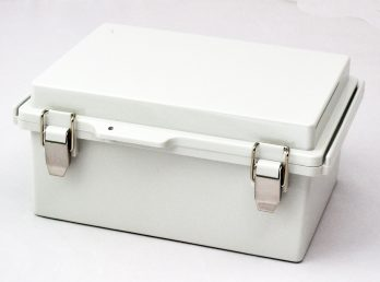 Fiberglass Box with Stainless Steel Latch PTQ-11048 closed