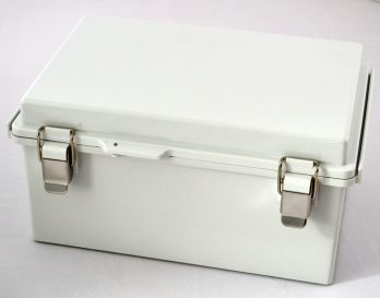 Fiberglass Box with Stainless Steel Latch PTQ-11057